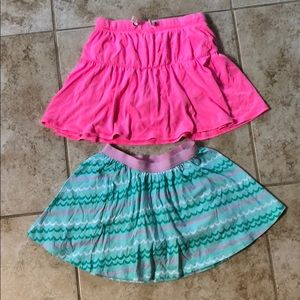 Other - 2 girls skirts size 6/6x